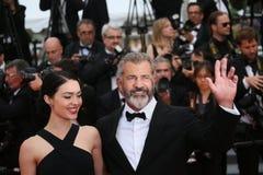 Mel Gibson och Rossalind Ross Royaltyfri Bild