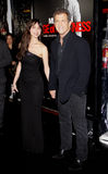 Mel Gibson and Oksana Grigorieva Stock Photos