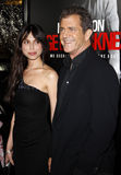 Mel Gibson and Oksana Grigorieva Royalty Free Stock Images