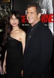 Mel Gibson and Oksana Grigorieva Royalty Free Stock Images