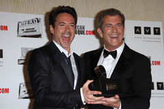 Mel Gibson, Robert Downey Jr, Robert Downey Jr., Robert Downey, Jr. Royalty Free Stock Photo