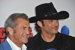 Mel Gibson & Robert Rodriguez Royalty Free Stock Images