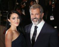 Mel Gibson, Rosalind Ross Immagini Stock Libere da Diritti