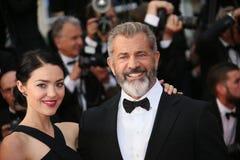 Mel Gibson und Rossalind Ross Lizenzfreies Stockbild