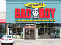 Mel Lastma's Bad Boy Superstore Royalty Free Stock Images