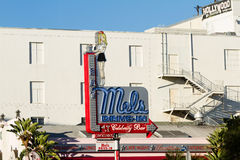Mel's drive-in Celebrity Bar Stock Images