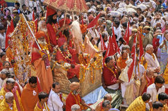 mela της Ινδίας kumbh Στοκ εικόνες με δικαίωμα ελεύθερης χρήσης