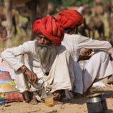 Mela верблюда Pushkar Стоковые Фотографии RF