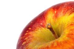 Mela arancio fresca isolata su bianco Immagine Stock