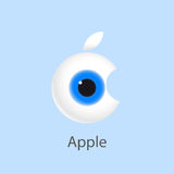 Mela dell'occhio Illustrazione di vettore Illustrazione Vettoriale