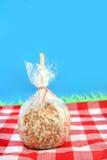 Mela di caramella della caramella Fotografie Stock Libere da Diritti