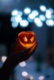 Mela di Halloween Immagini Stock