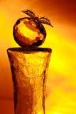 Mela di vetro Fotografie Stock