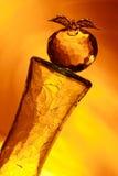 Mela di vetro Fotografia Stock