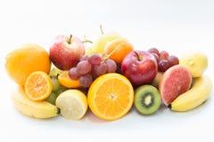 Mela ed uva di frutti Immagine Stock Libera da Diritti