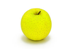 Mela giallastra verde Fotografia Stock Libera da Diritti