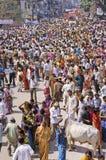 mela kumbh Индии Стоковые Изображения