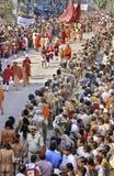 mela kumbh Индии Стоковые Изображения RF