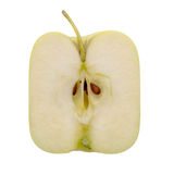 Mela quadrata Agricoltura moderna, forse geneticamente modificata Fotografia Stock Libera da Diritti