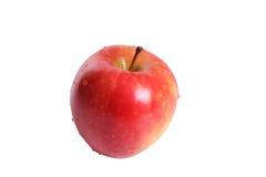 Mela rossa fresca Fotografia Stock Libera da Diritti