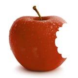 Mela rossa fresca Fotografia Stock