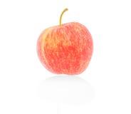 Mela rossa fresca isolata, percorso di ritaglio Fotografia Stock