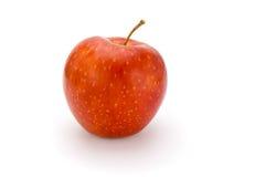 Mela rossa isolata Fotografie Stock