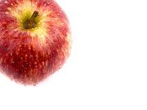 Mela rossa saporita Fotografia Stock Libera da Diritti