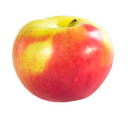 mela Rosso-gialla Fotografia Stock Libera da Diritti