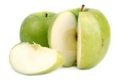 Mela verde 2 Fotografia Stock Libera da Diritti