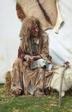 Melaatse vrouw Stock Fotografie