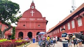 Melaka基督教会 库存图片