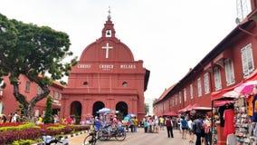 Melaka基督教会 免版税图库摄影