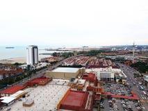 Melaka市视图 免版税图库摄影