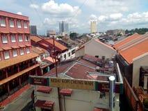 Melaka市视图 免版税库存图片