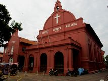 Melaka Christ Church Stock Photography