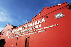 Melaka City building Stock Photos