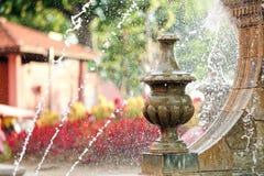 Melaka city fountain Stock Image