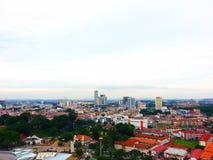 Melaka City View Royalty Free Stock Photo