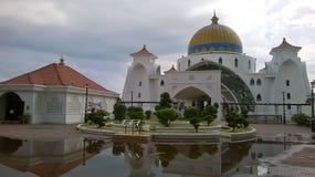 Melaka do selat de Masjid Imagens de Stock