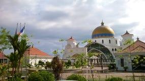 Melaka do selat de Masjid Imagem de Stock Royalty Free