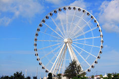 Melaka Ferris Wheel At Seaside Stock Photo