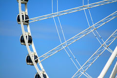 Melaka Ferris Wheel At Seaside Royalty Free Stock Photography
