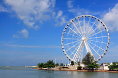 Melaka Ferris Wheel At Seaside Stock Photos
