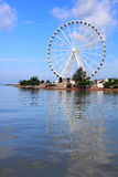 Melaka Ferris Wheel At Seaside Royalty Free Stock Images