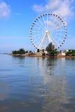 Melaka Ferris Wheel At Seaside Royalty Free Stock Images
