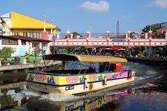 Melaka Malacca, Malaysia Arkivbild