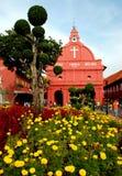 Melaka, Malaisie : Église de 1753 Néerlandais Images libres de droits