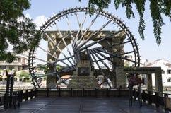 Melaka Malay Sultanate Water Wheel, Melaka, Malaysia Stock Photography