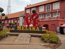 Melaka Malaysia Arkivbild